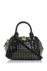 Burberry Prorsum Blaze Studded Patent leather Bag - Lyst