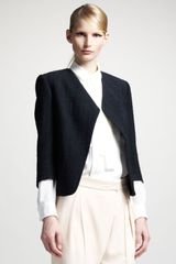 Chloé Raw Silk Jacket - Lyst
