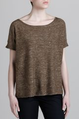 Donna Karan New York Easy Cashmereblend Top - Lyst