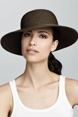 Eric Javits Squishee Iv Hat Antique - Lyst