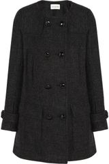 Etoile Isabel Marant Clifford Double Breasted Wool Blend Coat - Lyst