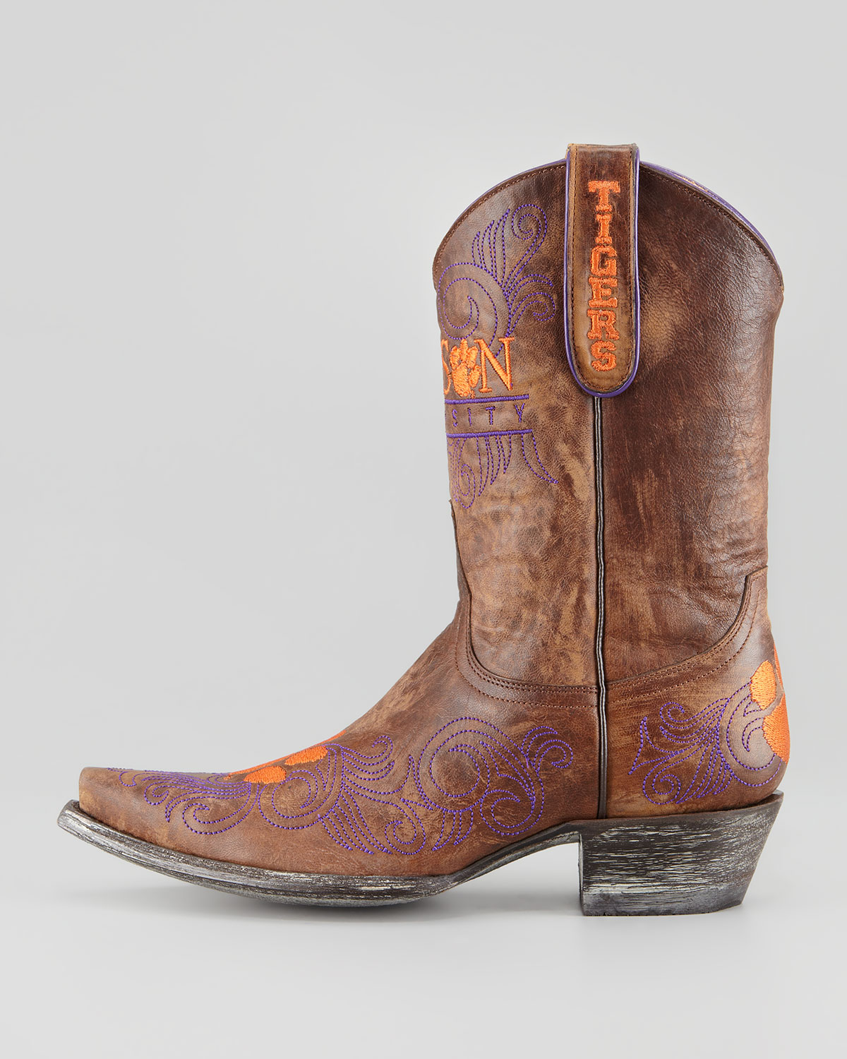 Lyst Gameday Boot Company Clemson Short Gameday Boots In