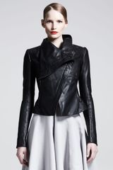 Gareth Pugh Razor Leather Jacket - Lyst