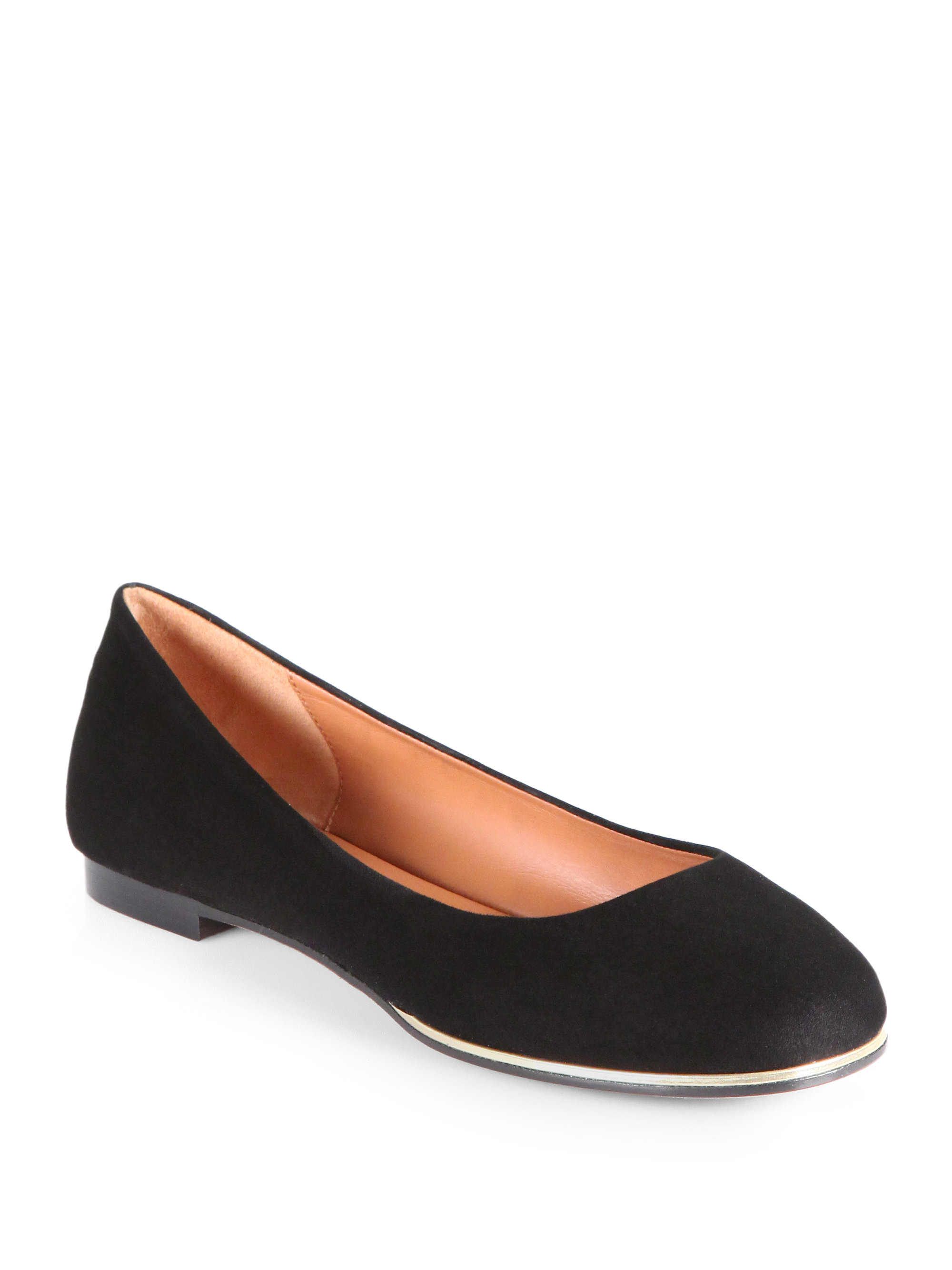 Women's Black Metallic Suede Ballet Flats $ $ 95 + $ shipping From Saks OFF 5TH Price last checked 13 hours ago Product prices and availability are accurate as of the date/time indicated and are subject to 10mins.ml: $