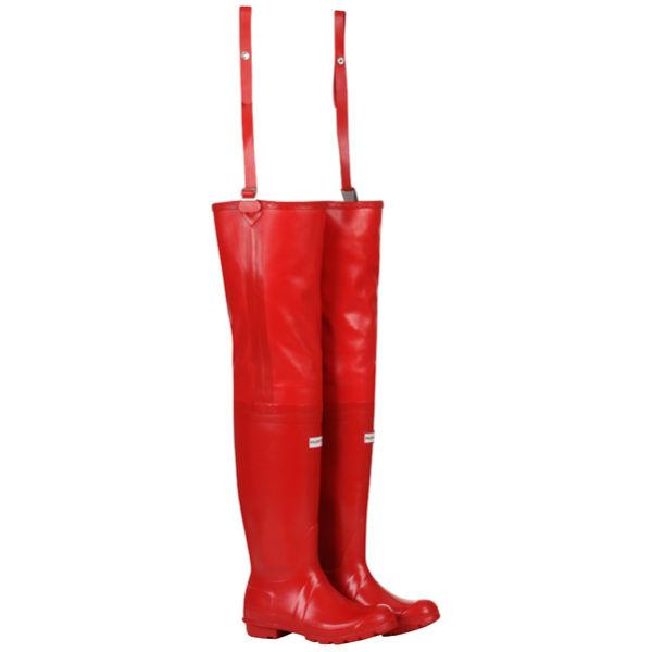 Hunter Womens Osten Wellies in Red