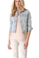 J Brand Slim Fitted Denim Jacket - Lyst