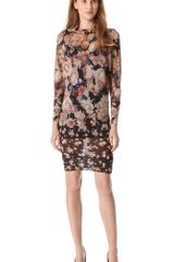 Jean Paul Gaultier Print Sweater Dress - Lyst