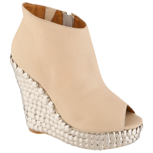 c95216a8e67 Jeffrey Campbell Womens Tick Studded Wedges in Natural - Lyst