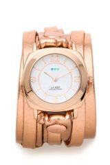 La Mer Collections Odyssey Case Layer Wrap Watch - Lyst