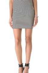 L'Agence Straight Skirt - Lyst