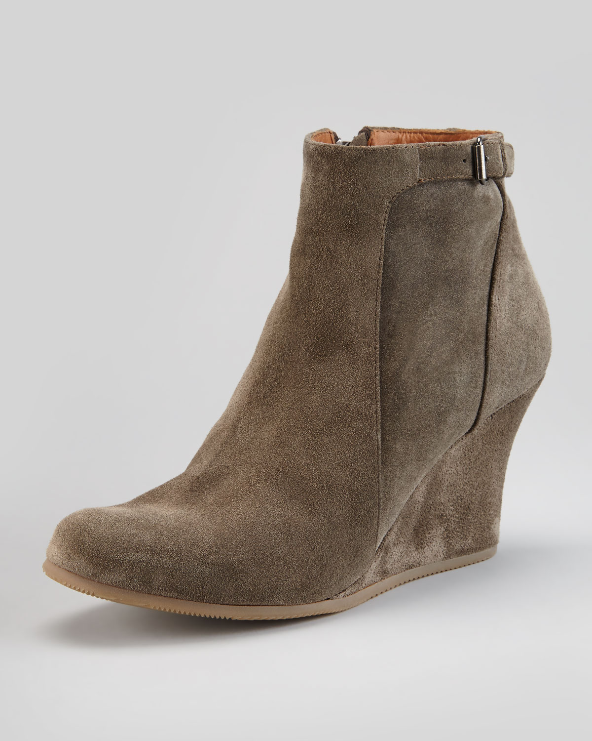 Wedge Boots Ankle - Cr Boot