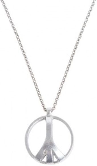 Low Luv X Erin Wasson Peace Cage Necklace - Lyst