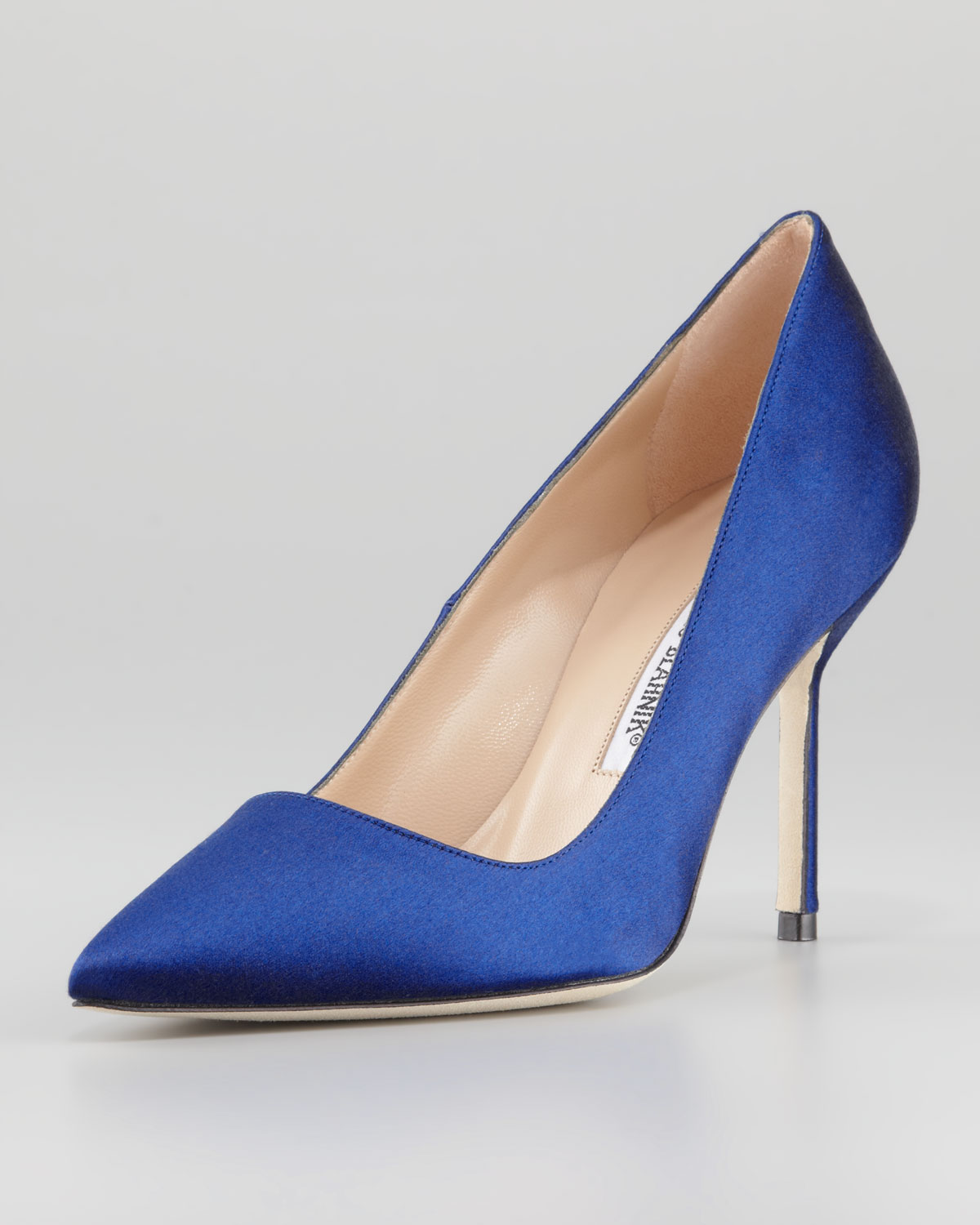 e724e93d5af manolo blahnik bb pumps blue