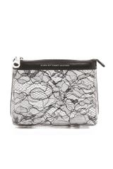 Marc By Marc Jacobs Lace Landscape Cosmetic Pouch - Lyst