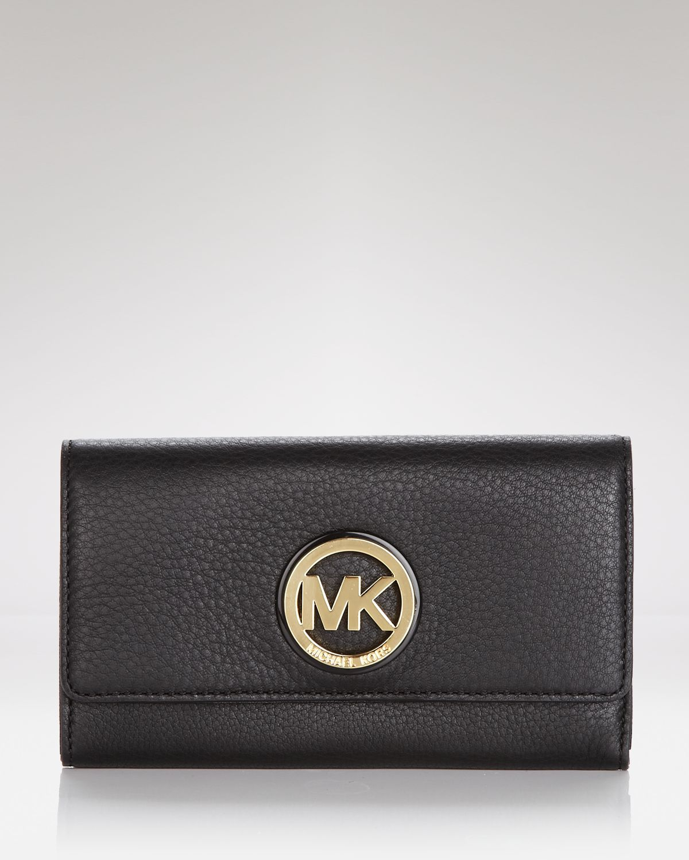 6fa5af065dbd MICHAEL Michael Kors Wallet Fulton Carryall in Black - Lyst