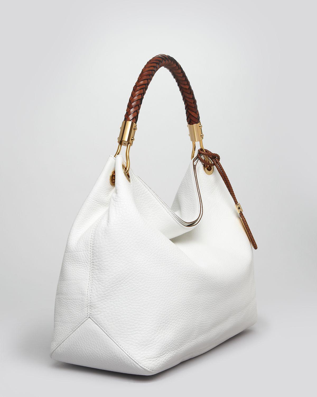 091289e8367c Lyst - Michael Kors Large Shoulder Bag - Skorpios in Brown