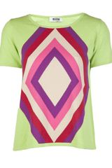 Moschino Cheap & Chic Printed Tshirt - Lyst