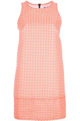 MSGM Sleeveless Dress - Lyst
