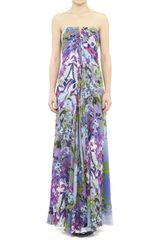 Nicole Miller Angelina Wildflower Gown - Lyst