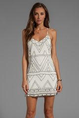 Parker Finn Dress in Ivory - Lyst