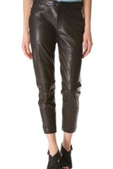 Rag & Bone Dakar Leather Pants - Lyst