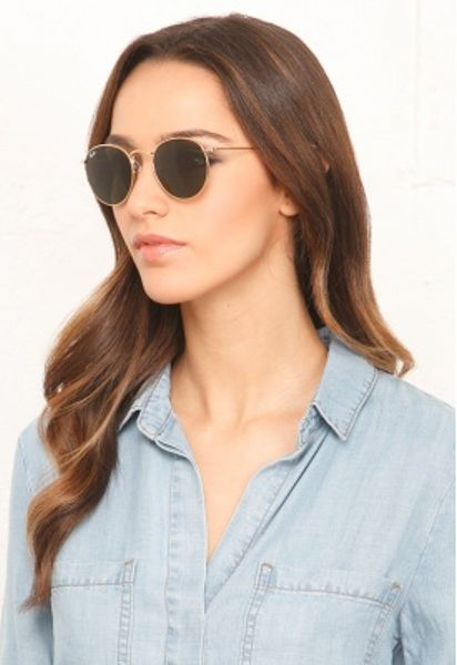 38967fd7aae5c3 Ray Ban Rb3447 Round Metal Sunglasses 50mm « Heritage Malta