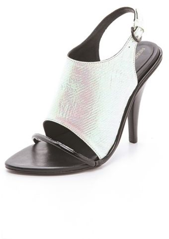 Rebecca Minkoff Barista High Heel Sandals - Lyst