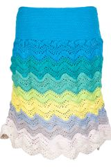 Risto Cotton Crochet Skirt - Lyst