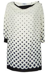 Sonia By Sonia Rykiel Polka Dot Shift Dress - Lyst