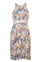Stella McCartney Abstract Print Dress - Lyst