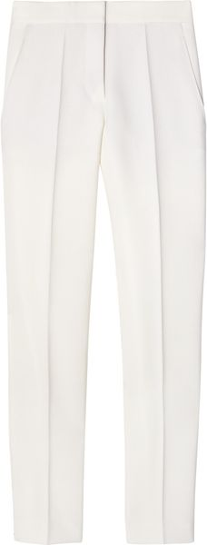 Stella McCartney Alfred Wool Skinny Pants - Lyst