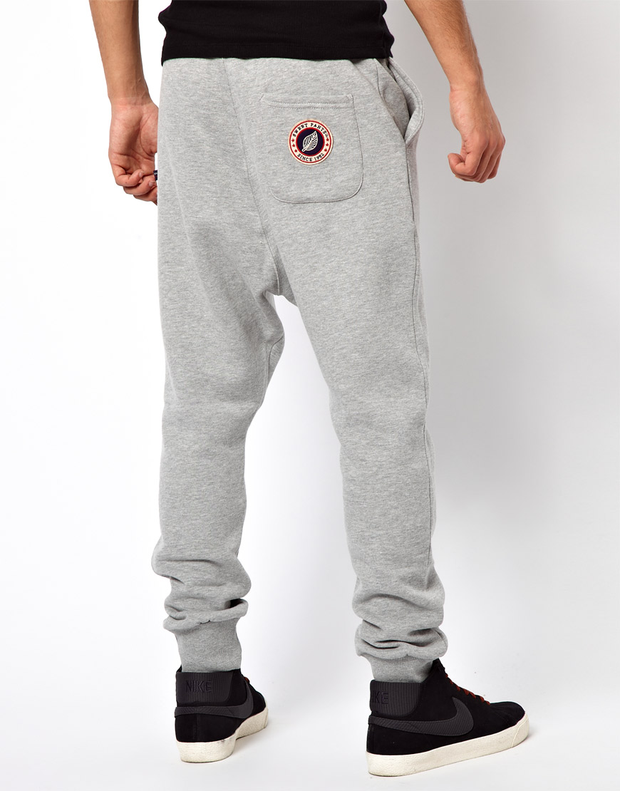 Whether made of cotton, knit, nylon or spandex, sweat pants encompass a large variety to fit the needs of any person wearing them. For a fun, cute look, try wearing a hoodie with a pair of contrasting, bright-colored sweatpants.