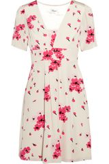 Temperley London Mini Lea Printed Silk Dress - Lyst
