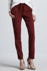 Theory Relaxed Drawstring Pants - Lyst