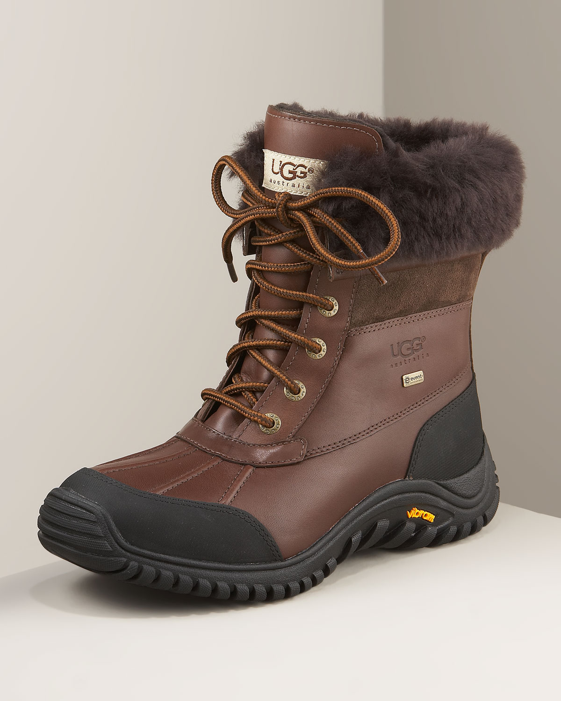 Ugg Adirondack Lugged Sole Boot Ii In Brown Lyst