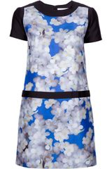 Victoria, Victoria Beckham Floral Shift Dress - Lyst