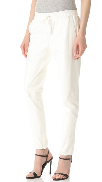 New Womens Jogging Pants In Off White Baserange Jogging Pants In Off White