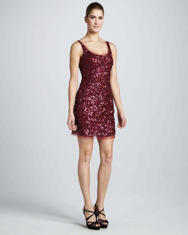 Sequin Tank Dress