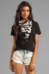 Diane Von Furstenberg New Bubsy Day Scarf in Black - Lyst