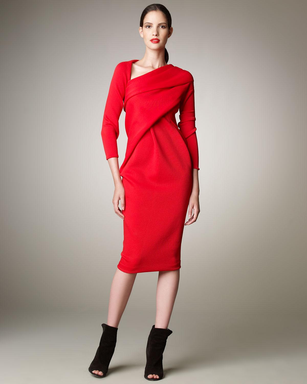 Donna Karan Red Dress
