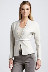 Donna Karan New York Belted Cardigan - Lyst