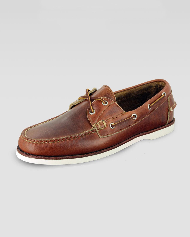 Eastland Freeport Boat Shoe Chicago Tan in Brown | Lyst