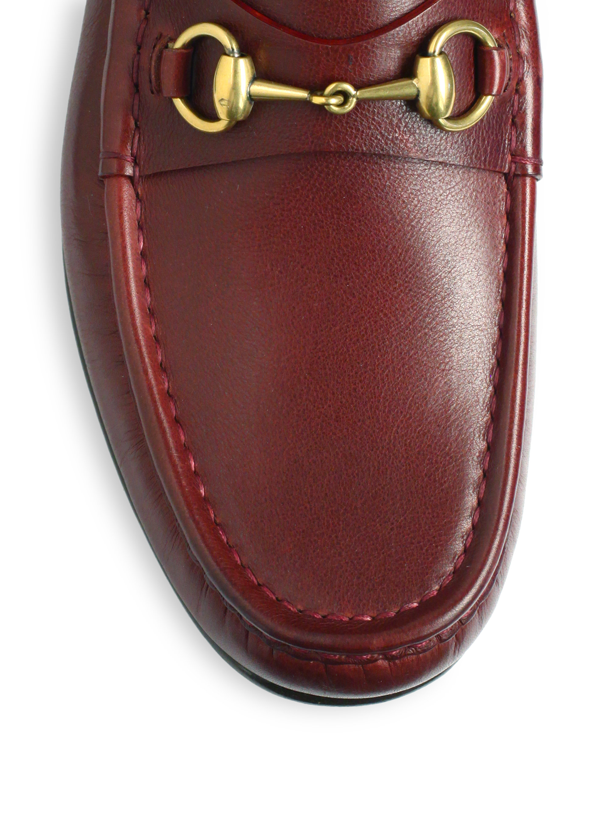09298bba3fe Lyst - Gucci Roos 1953 Horsebit Loafers in Brown for Men