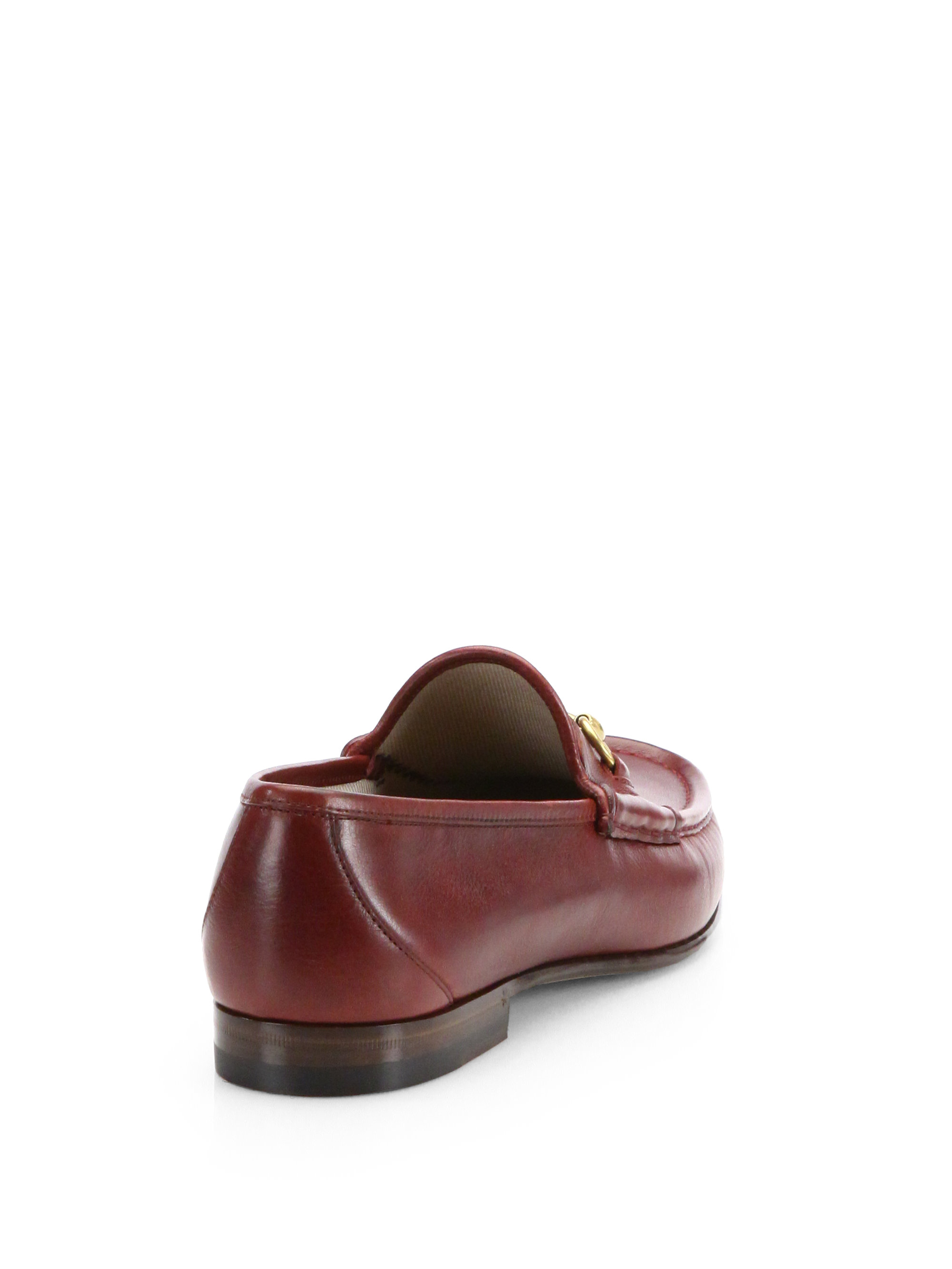 5cf510c62fd Lyst - Gucci Roos 1953 Horsebit Loafers in Brown for Men
