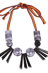 Marni Resin Bead Necklace - Lyst