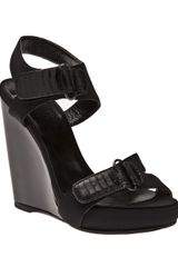 Pierre Hardy Neoprene Wedge - Lyst