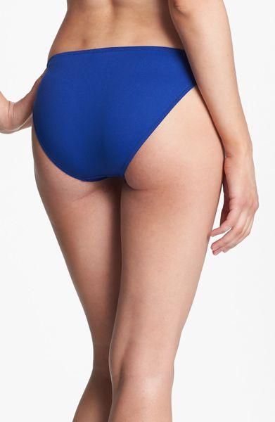 Ralph Lauren Blue Hipster Bikini Bottoms In Blue Navy Lyst