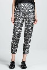 Robert Rodriguez Filigreeprint Trousers - Lyst