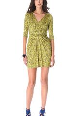 Saloni Cosima Embroidered Dress - Lyst