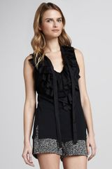 Skaist Taylor Ruffled Top - Lyst